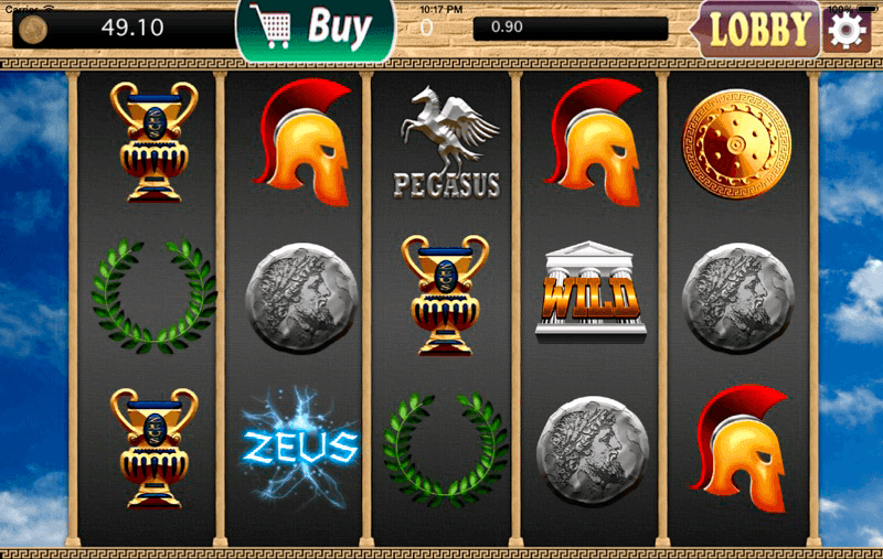 Titan Casino slots game screenshot