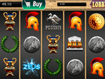 Titan Casino slots game screenshot thumb
